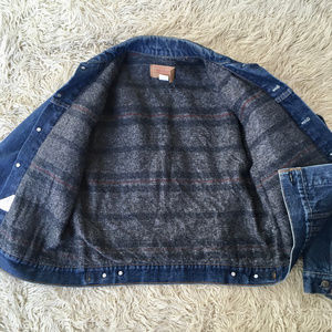 Vintage Levi's Men's Denim Jean Jacket Lined 42